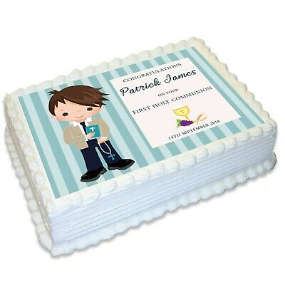 £8.12 • Buy Communion Religious A4 Edible Icing Cake Topper