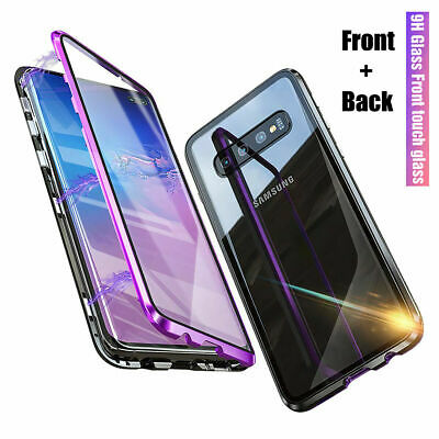 $ CDN11.73 • Buy Case For Samsung Galaxy S10 S9 S8 Plus Magnetic Absorption Tempered Glass Cover