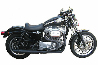 $669.95 • Buy Black Thunderheader 2 Into 1 Exhaust Pipe System Harley Sportster Mid Controls