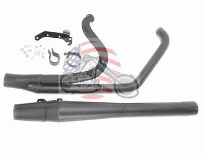 $999.95 • Buy Black Thunderheader 2 Into 1 Exhaust Pipe Long Style 2009 Harley Touring Bagger