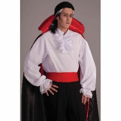$19.95 • Buy Mens Adult COLONIAL Or Vampire Or Pirate Shirt Costume Outfit