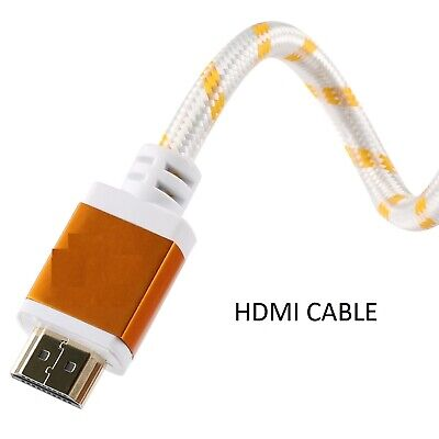 $ CDN9.67 • Buy HDMI Cable 25FT High Speed For BLURAY 3D DVD PS3 HDTV XBOX LCD HD TV 1080P WHITE