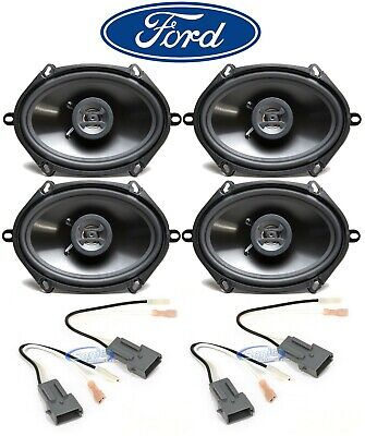 £53.76 • Buy Hifonics 6x8  Front+Rear Car Speaker Replacement Kit For 1999-2003 Ford F-150