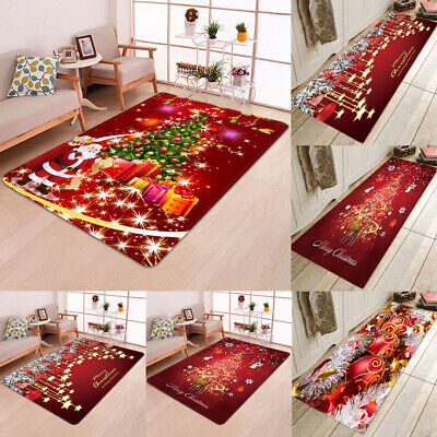 $7.59 • Buy Santa Door Floor Mat Christmas Area Rug Holiday Kitchen Bedroom MAT Carpet Decor