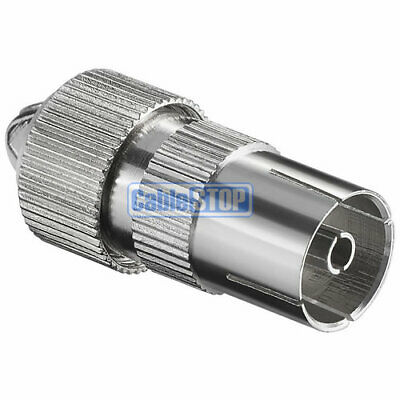 £1.75 • Buy Female Coax Socket Tv Aerial Connector Coaxial Adapter