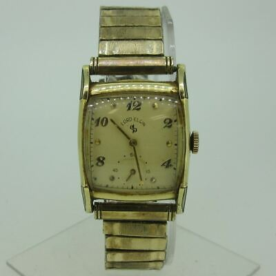 $ CDN64.38 • Buy Vintage 1951 Lord Elgin 556 21J 14k Gold Filled Watch Parts