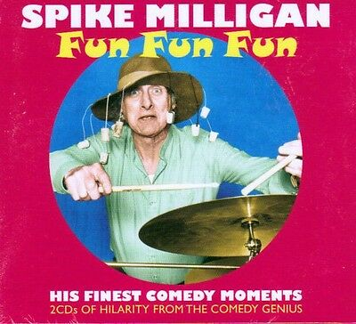 Spike Milligan - Fun Fun Fun - His Finest Comedy Moments (new Sealed 2cd) • 4.69£