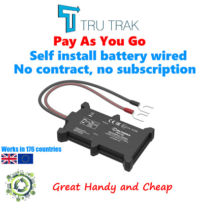 GPS Vehicle Tracking Device - Van Motorbike Coach Car Tracker - Pay As You Go • 44.09£