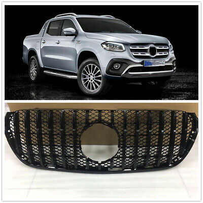 AU335 • Buy Car Front GT Grille Upper Grill For Mercedes Benz X-Class 2018 2019 2020 Black