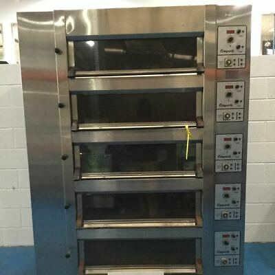 Tom Chandley 10 Tray High Crown Deck Oven - Stock No: Y159745 - Bakery Equipment • 5,950£