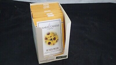 Lot Of 11 Yankee Candle Sunflower Fragranced Sachet Packet 0.4 Oz  • 14.10£