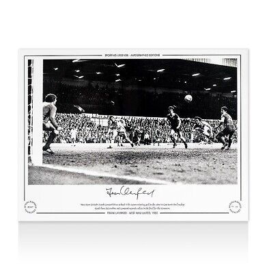 £35.99 • Buy Frank Lampard Snr. Signed West Ham United Photo - 1980  Autograph