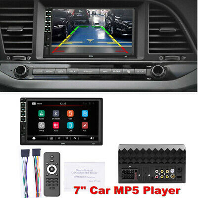 AU75.62 • Buy 7  Double 2Din Car MP5 Player Head Unit Bluetooth Radio Stereo Touch Screen