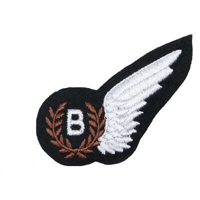 £5.45 • Buy RAF Bomb Aimers Wing - WW2 Royal Air Force Bombardiers Wing Badge Brevet REPRO