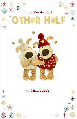 Boofle Wonderful Other Half Christmas Greeting Card Cute Xmas Cards • 4.29£