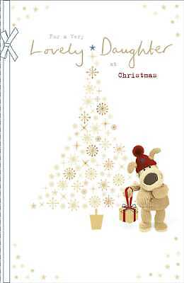 Boofle Lovely Daughter Christmas Greeting Card Cute Xmas Cards • 5.99£