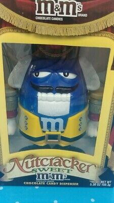 $22.88 • Buy M&M Sweet Candy Dispenser  Nut Cracker  Blue, New In Box, X-mas Limited Edition