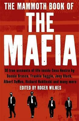 The Mammoth Book Of The Mafia (Mammoth Books), Nigel Cawthorne, Excellent Book • 6.63£