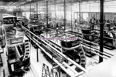 £2.20 • Buy A0808 - Glasgow Tram - Trams Being Worked On In The Depot - Print 6x4