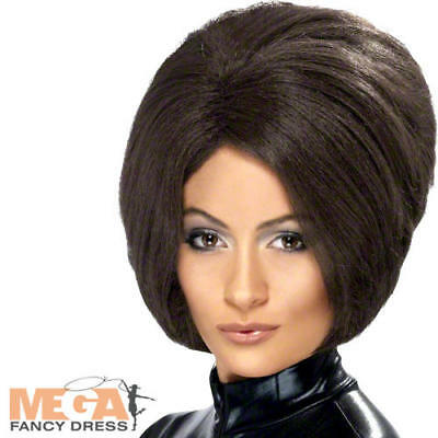 Posh Spice Brown Wig Ladies Fancy Dress 90s Victoria Beckham Costume Accessory  • 10.99£