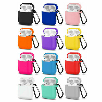 $ CDN3.56 • Buy Premium Airpods Silicone Case Cover Protective Skin For Apple New Airpod 2 / 1