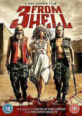 AU19.99 • Buy 3 FROM HELL DVD Rob Zombie Film Sequel To House Of 1000 Corpses New & Sealed