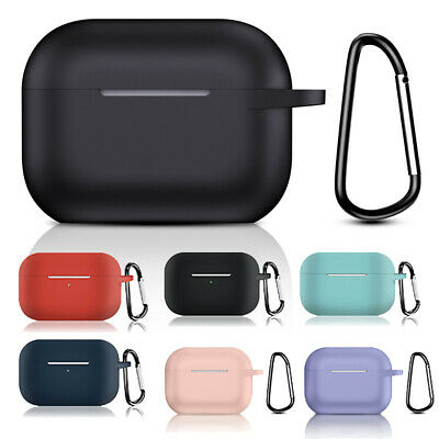$ CDN3.62 • Buy For Apple AirPods Pro 2019 Charging Case Silicone Protective Skin Cover Keychain