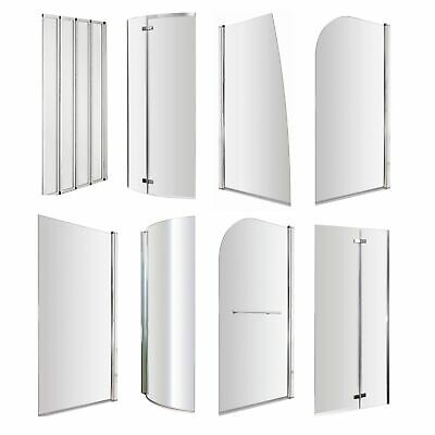 £75 • Buy VeeBath Bath Screens Glass Panel Enclosure Shower Screen - All Shapes And Sizes
