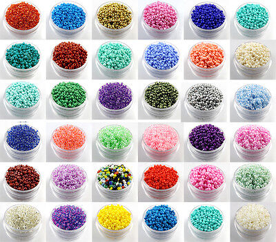 $ CDN1.58 • Buy Czech  22g 2mm/3mm/4mm Round Lot Colorful Glass Loose Beads DIY Jewelry Making