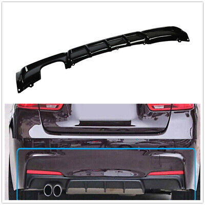 AU95 • Buy Performance Style Rear Bumper Diffuser For BMW 3 Serie F30 F31 12-18 Glossy M