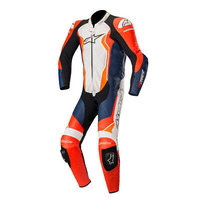 $868.88 • Buy Alpinestars GP Force Leather 1PC Sports Motorcycle Track Race Suit - Repsol