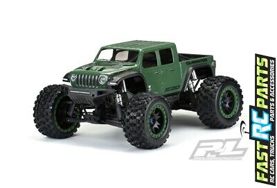 AU103.90 • Buy ProLine  Pre-Cut Jeep Gladiator Rubicon Clear Body X-MAXX PRO3533-17