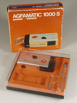 £171.74 • Buy Prl) Agfa Agfamatic 1000s Pocket Sensor Fotocamera Collezione Collection