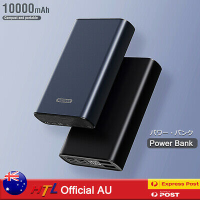 AU22.90 • Buy Mini Power Bank Universal Battery Charger Dual USB Fast Charge Type-C Lightning