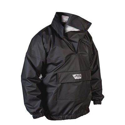 Vass Tex 175 Lightweight Waterproof & Breathable Fishing Smock - BLACK • 72.95£