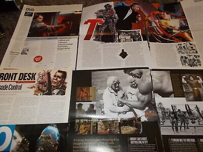 Arnold Schwarzenegger  Celebrity  Clippings Pack 100+  Good Condition • 5.50£