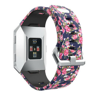 AU11.99 • Buy Sport Fashion Pattern Silicone Wrist Band Replacement For Fitbit Ionic Strap NEW