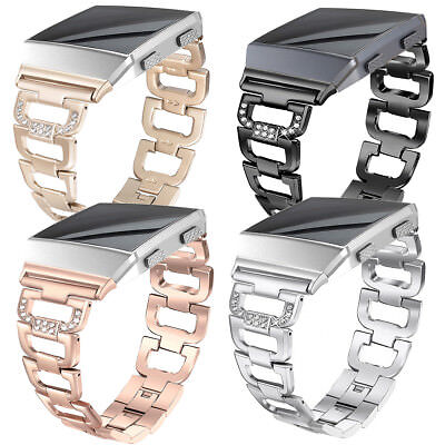 AU17.99 • Buy OZ For Fitbit Ionic Watch Stainless Steel Clasp Wrist Band Bracelet Replacement