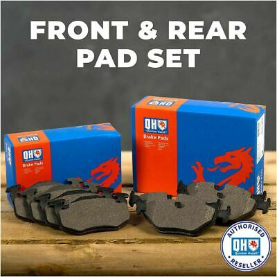 Front And Rear Brake Pads Complete Set Fits Opel Vauxhall Astra 2005 - • 24.99£