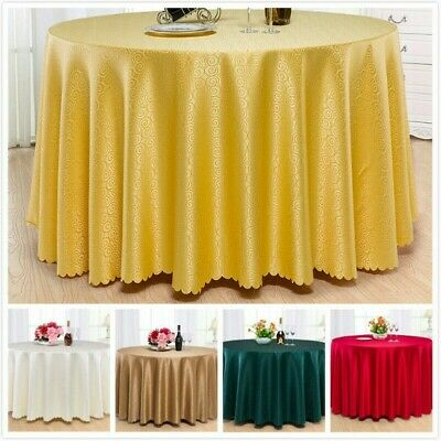 AU27.67 • Buy Hotel Restaurant Table Cover Jacquard Tablecloth Dining Banquet Table Cover