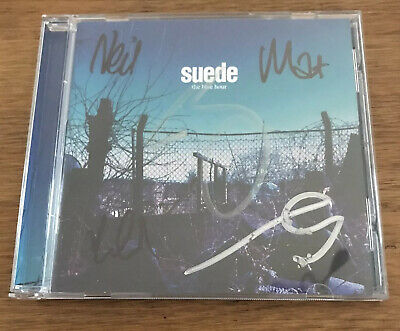 £29.95 • Buy Suede - The Blue Hour Cd Signed Autographed