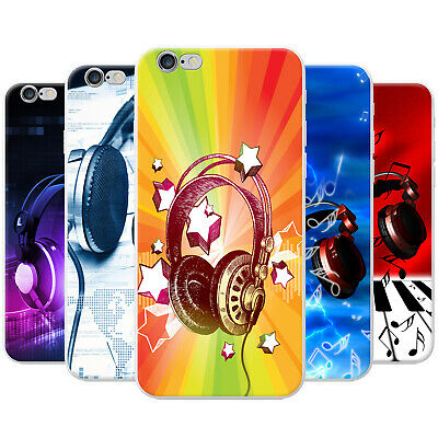 Azzumo Love Music With Headphones & Notes Soft Thin Case Cover For The IPhone • 3.99£