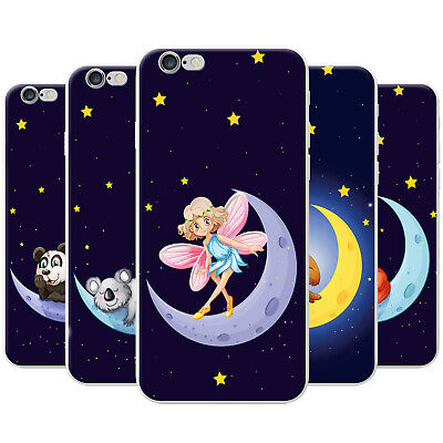 £3.99 • Buy Azzumo Happy On The Moon With The Stars Soft Thin Case Cover For The IPhone