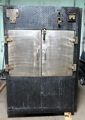 Oyler J&R 700 Smoker BBQ Master Convection Oven Pit Rotisserie Barbecue Wood A • 10,000$