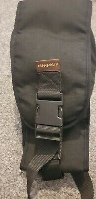 Black HIPPYCHICK:, Hip Seat, Baby And Toddler Carrier • 15£