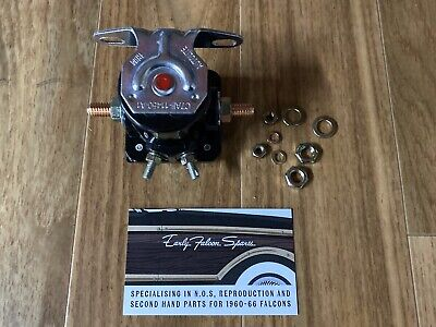 AU65 • Buy New Concours Reproduction Ford Falcon Starter Solenoid XR XT XW XY XA GT GS GTHO