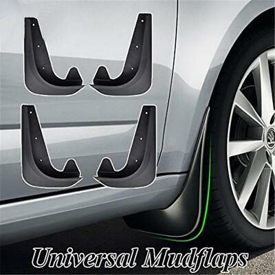 $20.60 • Buy 4pcs Car Accessories Black Universal Mud Flaps Guards Splash Molded Front Rear