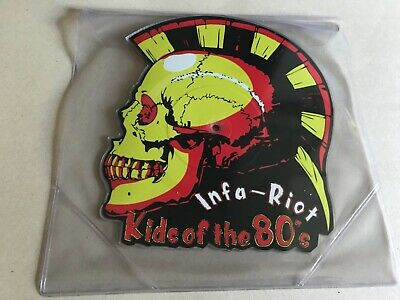 £18.50 • Buy Infa Riot Kids Of The 80's  Shaped Picture Disc  Single Uk82 Punk Oi Classic