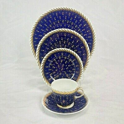 5  Place Setting WEDGWOOD ST JAMES CHINA SET DINNER PLATE LUNCH TEA CUP SAUCER • 74.90£
