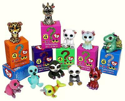 £9.95 • Buy Ty Mini Boos Series 4 NEW Mini Figures Hand Painted   Choose Your Own Character